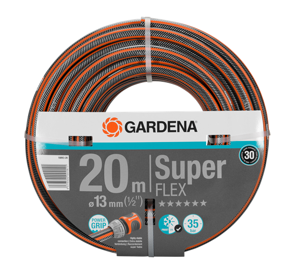 "Шланг Gardena SuperFLEX (1/2"") х 20 м"